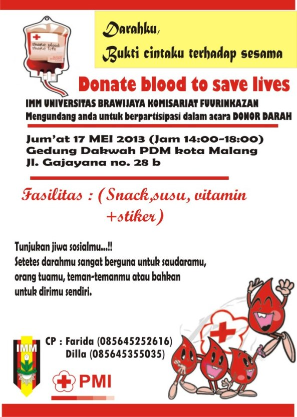Donor Darah IMM Fuurinkazan